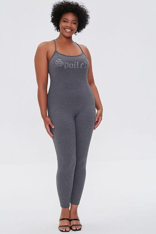 Plus Size Spoiled Cami Jumpsuit, image 4