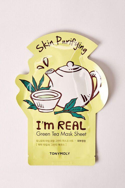I'm Real Green Tea Mask Sheet Skin Purifying, image 1