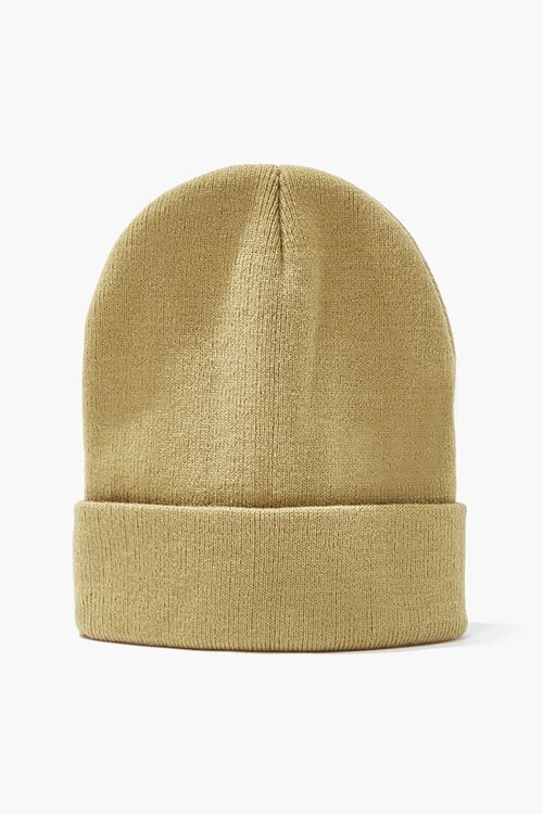 Foldover Knit Beanie, image 1