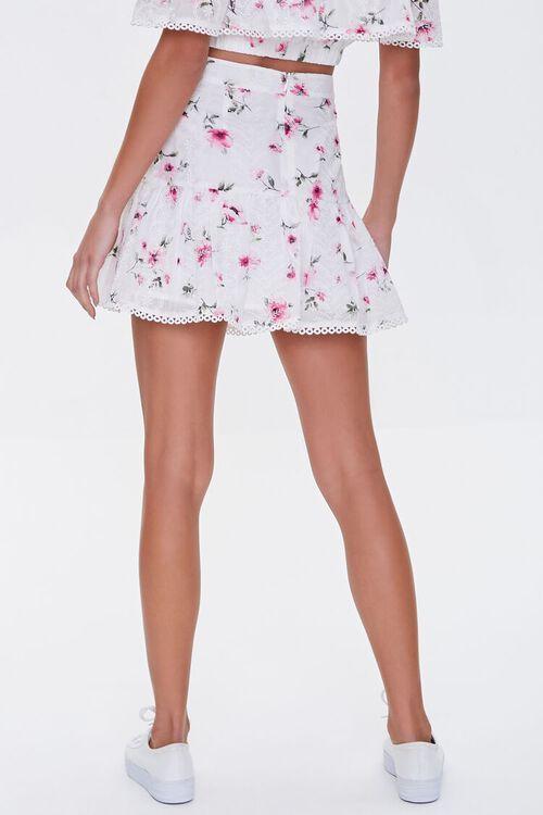 Floral Lace A-Line Skirt, image 4