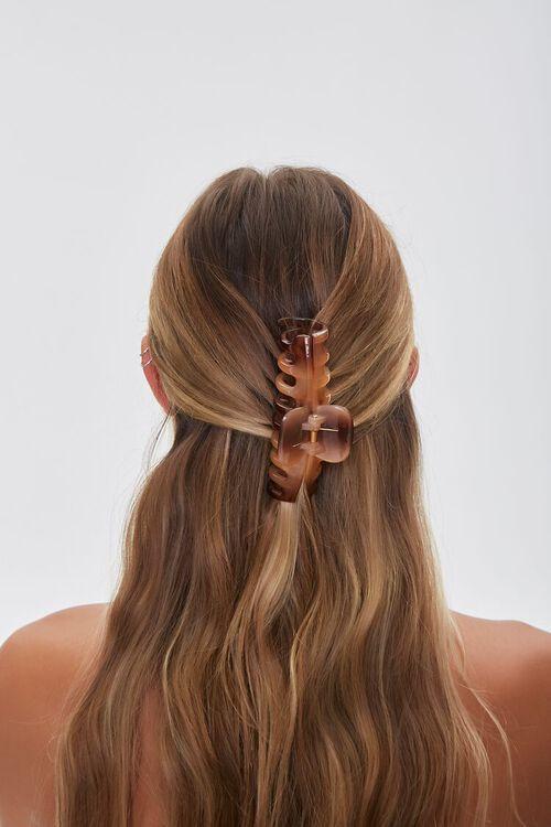 Tortoiseshell Claw Hair Clip, image 2