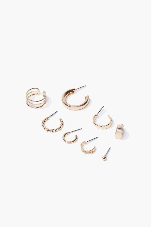 Variety Hoop Earring Set, image 1