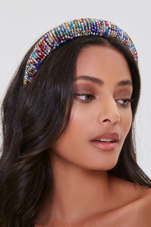 Multicolor Beaded Headband, image 2