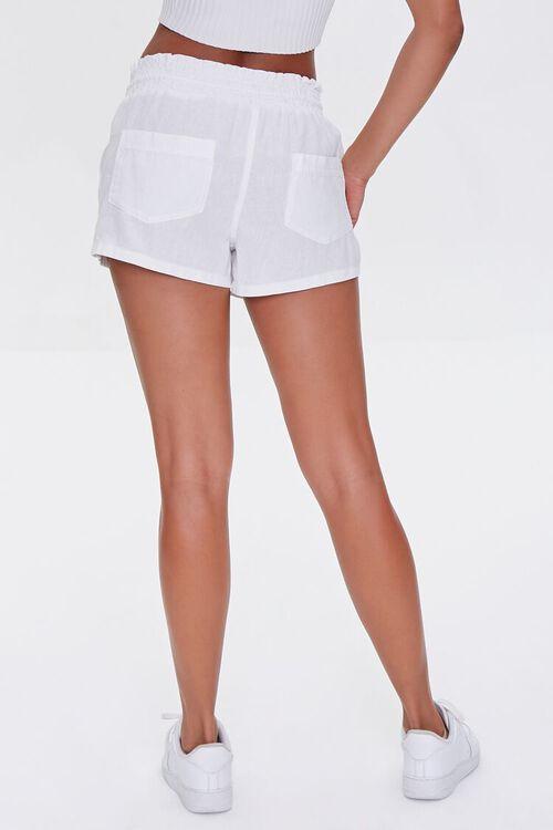 Linen-Blend Drawstring Shorts, image 4