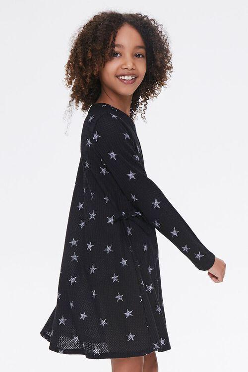 Girls Star Print Dress (Kids), image 2