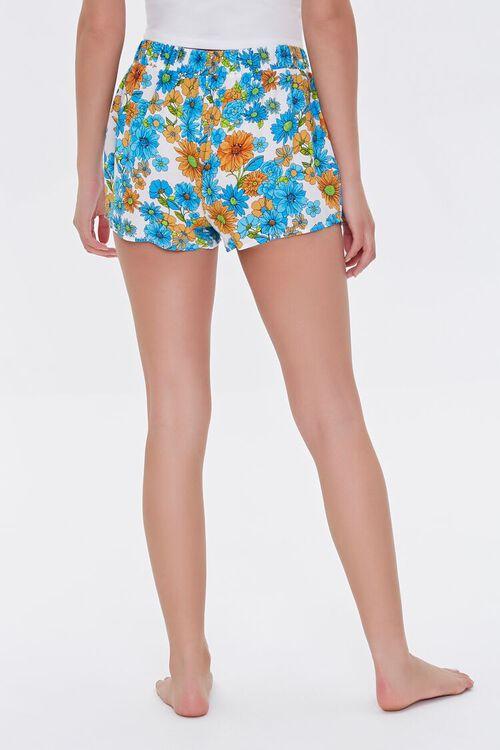 Floral Print Sleep Shorts, image 4