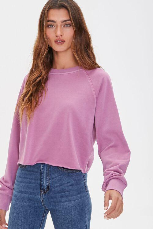 Boxy Raglan Sweatshirt, image 1