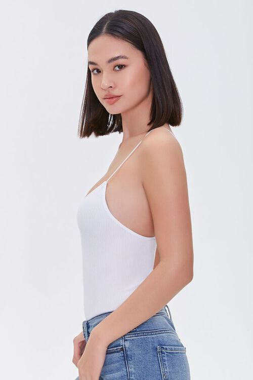 Ribbed Scoop-Cut Bodysuit, image 2