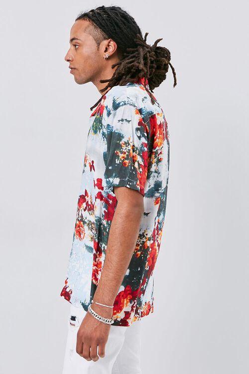 Abstract Floral Print Shirt, image 2