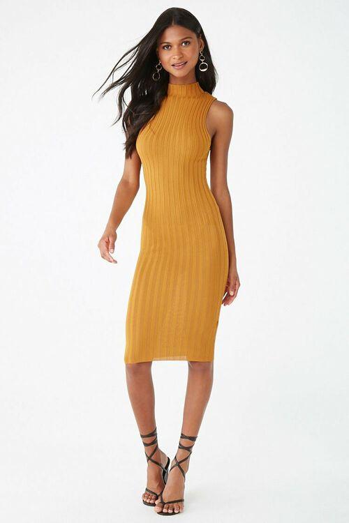 Sleeveless Mock Neck Dress, image 4