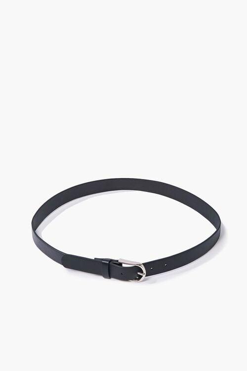 Faux Leather Buckle Belt, image 2