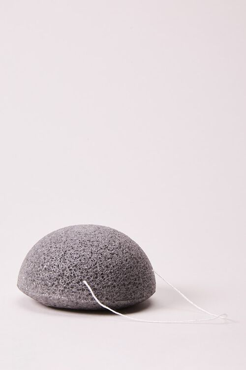 Konjac Cleansing Sponge with Bamboo Charcoal, image 1
