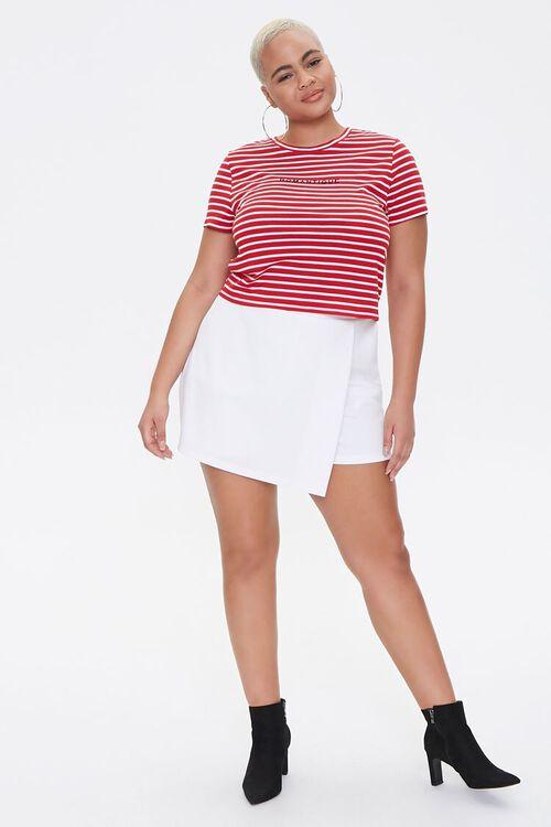 Plus Size Striped Romantique Tee, image 4
