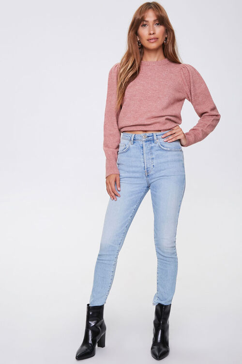 Ribbed-Trim Sweater, image 4