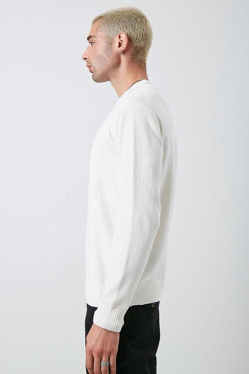 Chenille Crew Neck Sweater, image 2