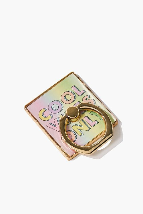YELLOW/MULTI Cool Vibes Phone Ring, image 1