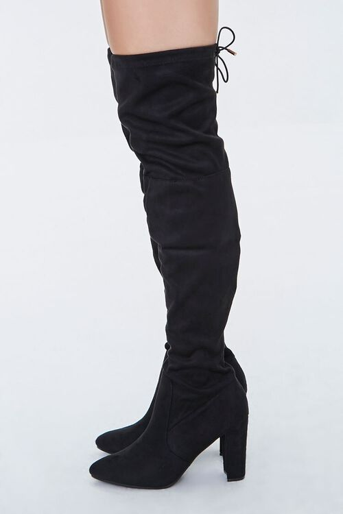 Over-the-Knee Lace-Up Boots, image 2