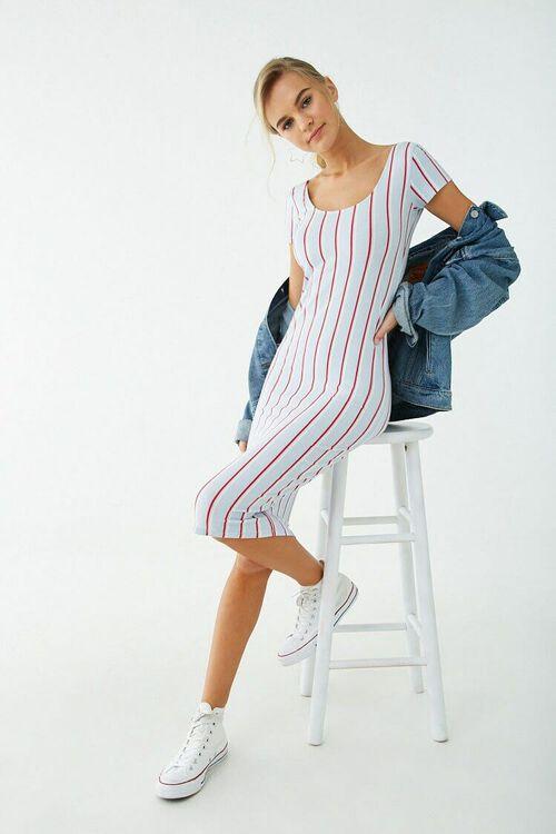 Sleeveless Striped Dress, image 4