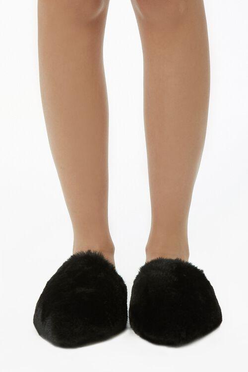 Faux Fur Flats, image 2