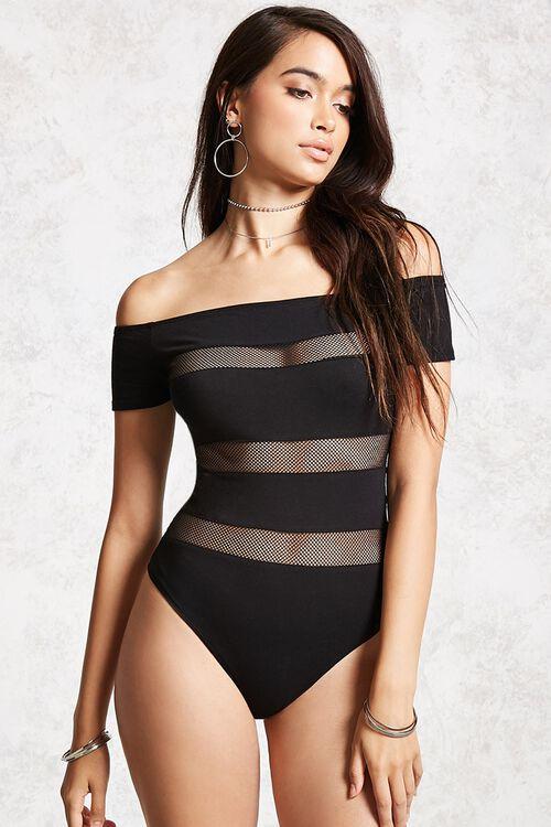 Shadow-Stripe Bodysuit, image 5