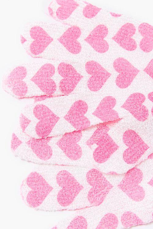 Heart Print Shower Gloves, image 2