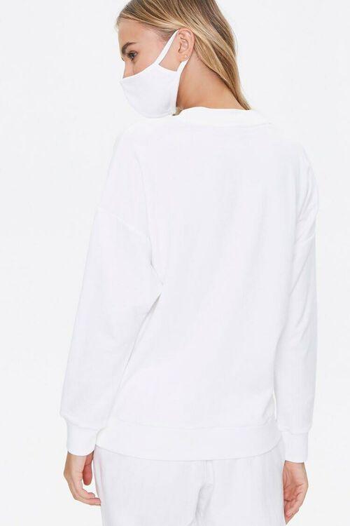 French Terry Sweatshirt & Face Mask Set, image 3