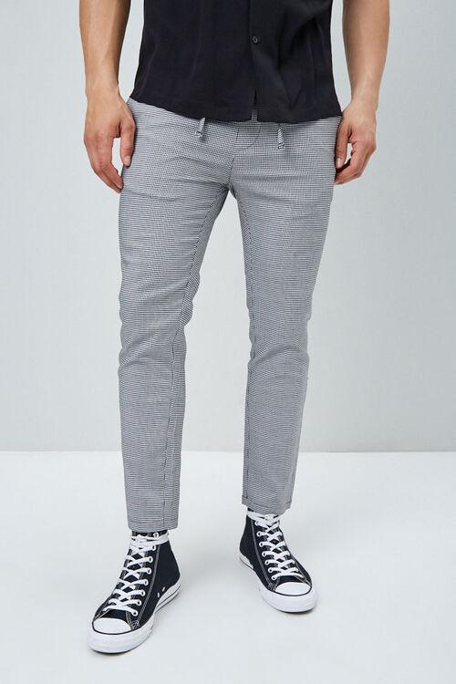 Houndstooth Drawstring Pants, image 2