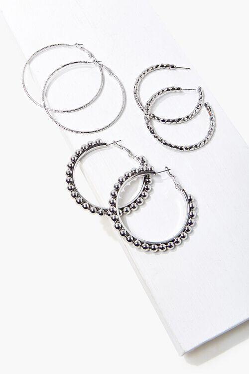 Beaded Hoop Earring Set, image 1