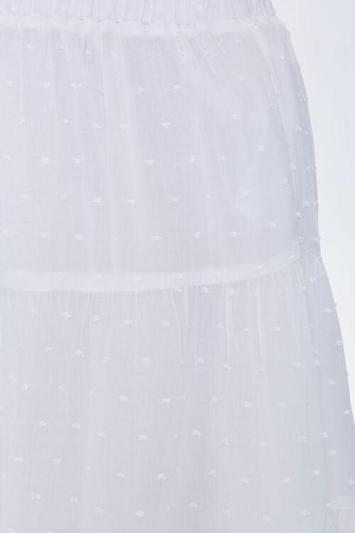 Tiered Clip Dot Mini Skirt, image 6