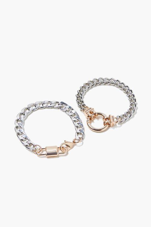 Curb Chain Bracelet Set, image 1