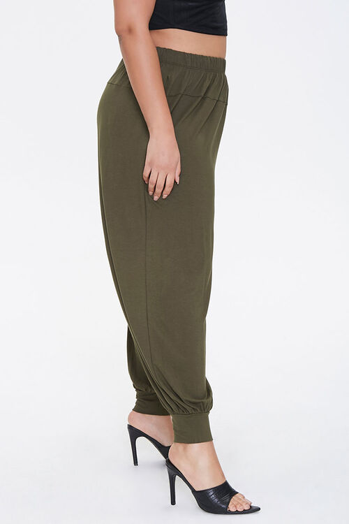 Plus Size Billowy Joggers, image 3