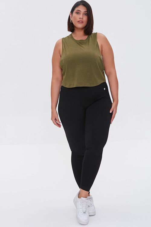 Plus Size Active Muscle Tee, image 4