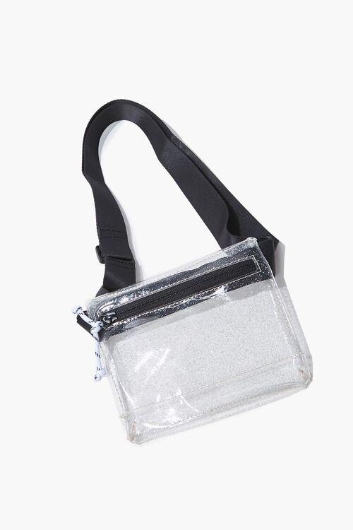 Glittered Transparent Fanny Pack, image 1