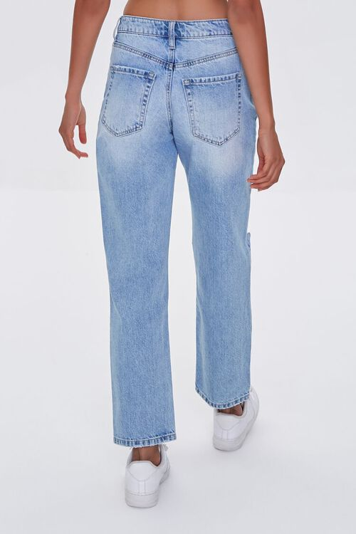 LIGHT DENIM Premium Distressed Boyfriend Jeans, image 4