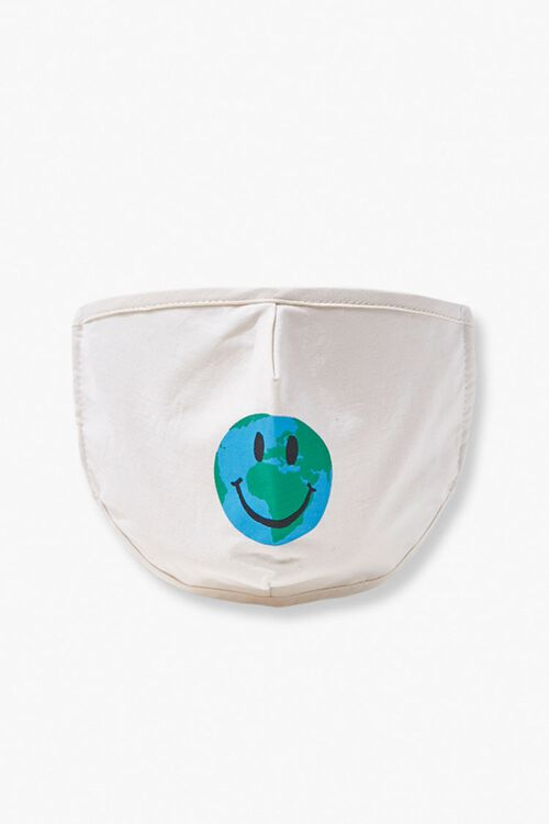 Girls Earth Face Mask (Kids), image 1