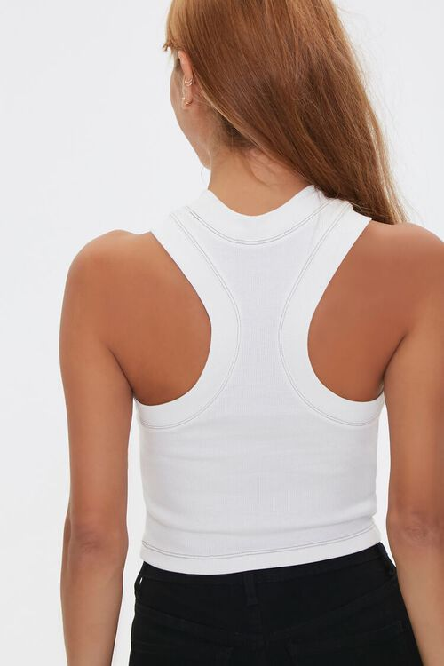 Topstitched Racerback Tank Top, image 3