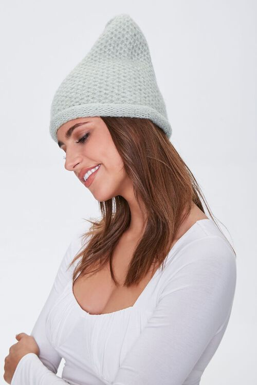 Honeycomb Rolled Beanie, image 2