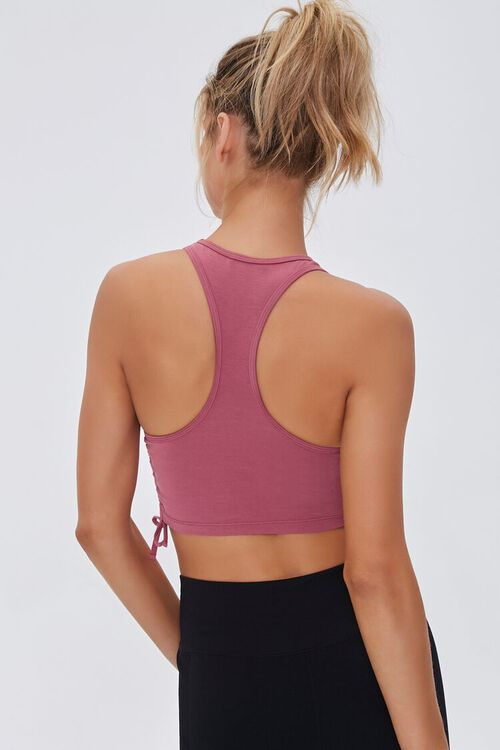Active Ruched Drawstring Top, image 3