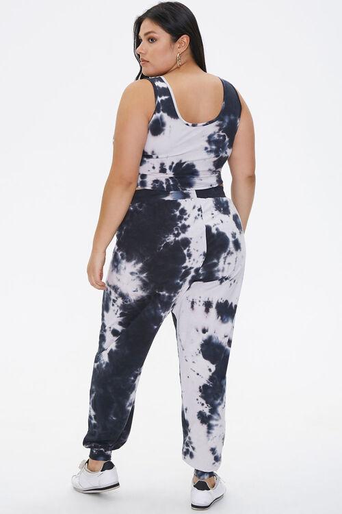 Plus Size Tie-Dye Top & Joggers Set, image 3