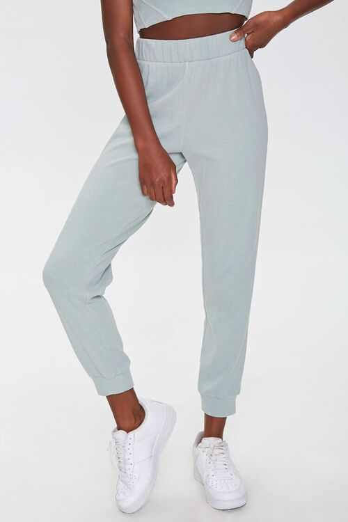 Cropped Tank Top & Joggers Set, image 5
