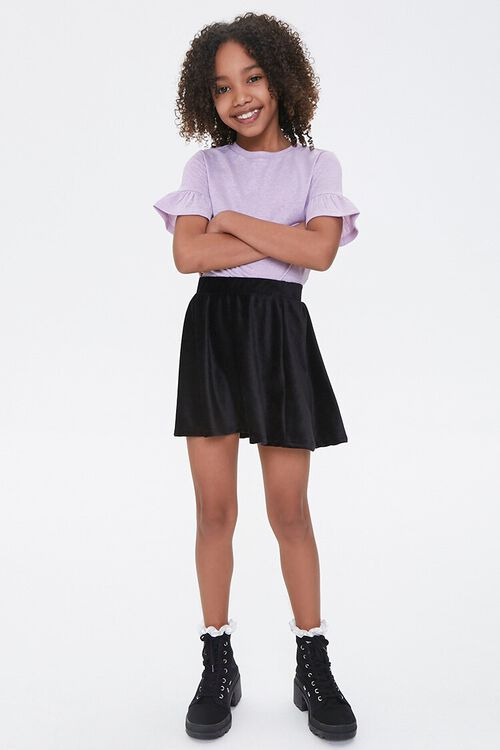 Girls Ruffled-Sleeve Tee (Kids), image 4