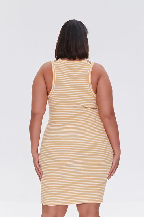 Plus Size Striped Mini Dress, image 3