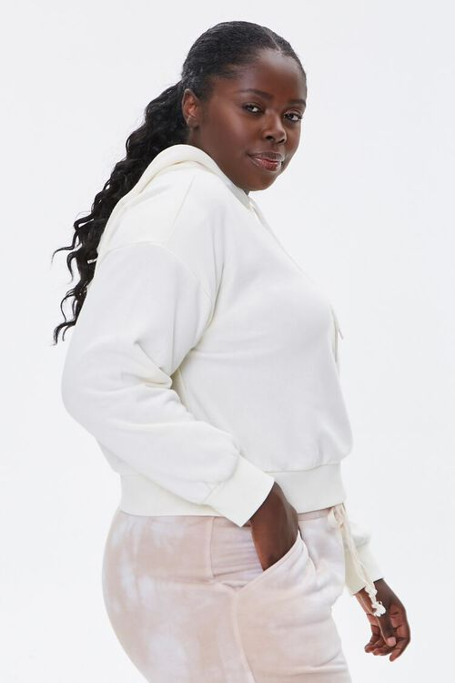 Plus Size Femme Embroidered Hoodie, image 2