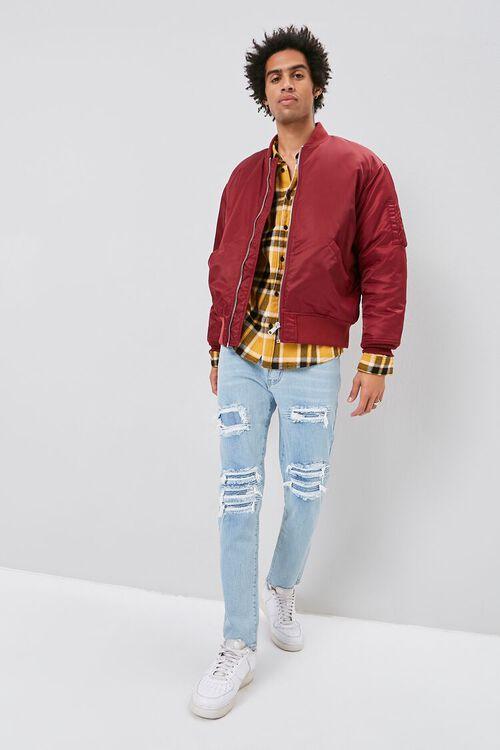 Moto-Panel  Distressed Skinny Jeans, image 5
