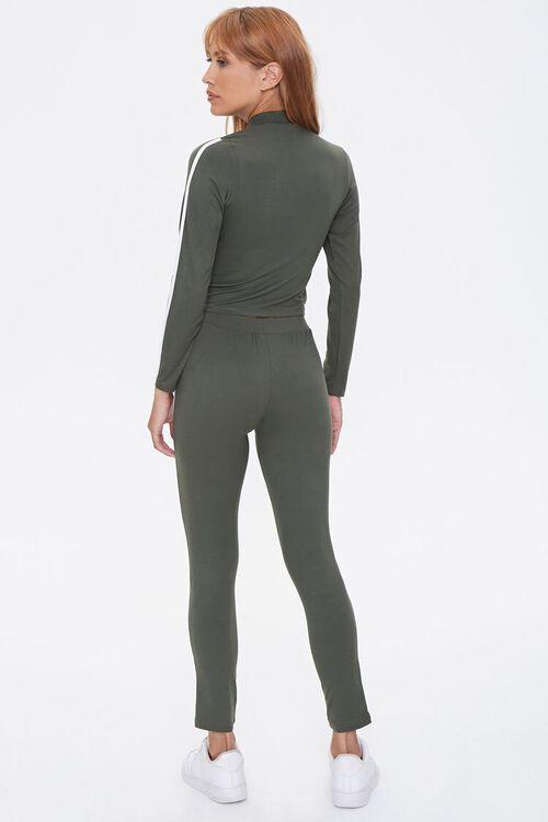 Side-Striped Top & Leggings Set, image 3