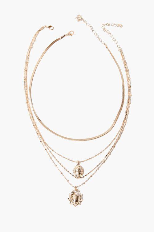 Iconograph Pendants Layered Necklace, image 2