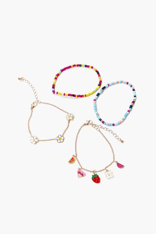 Beaded Charm Bracelet Set, image 2