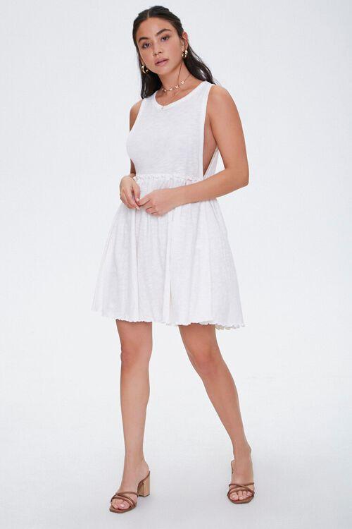 CREAM Ruffled Tank Skater Dress, image 5
