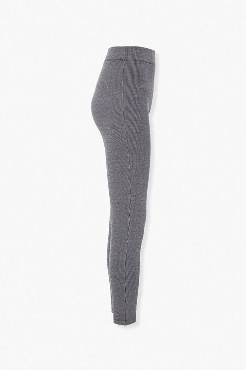 Microstriped Knit Leggings, image 2