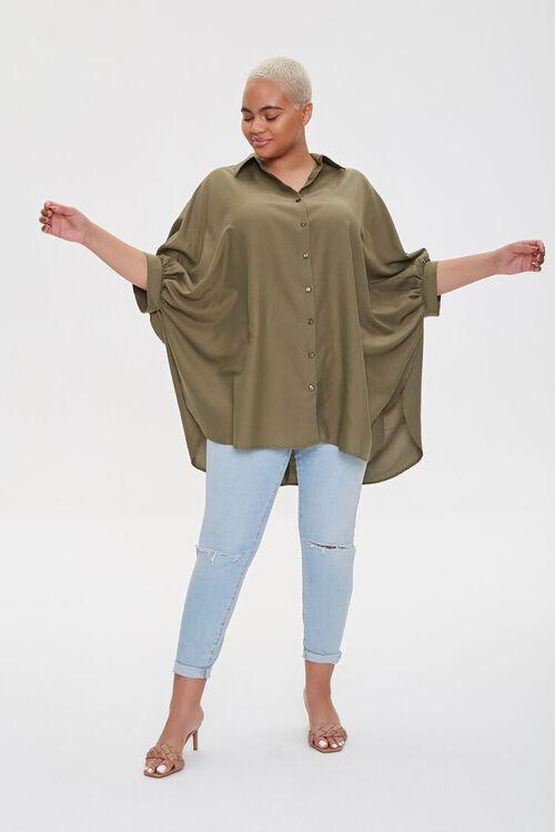 Plus Size Shirt Tunic, image 2
